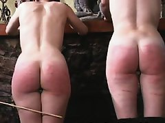 Sexy goths spanked